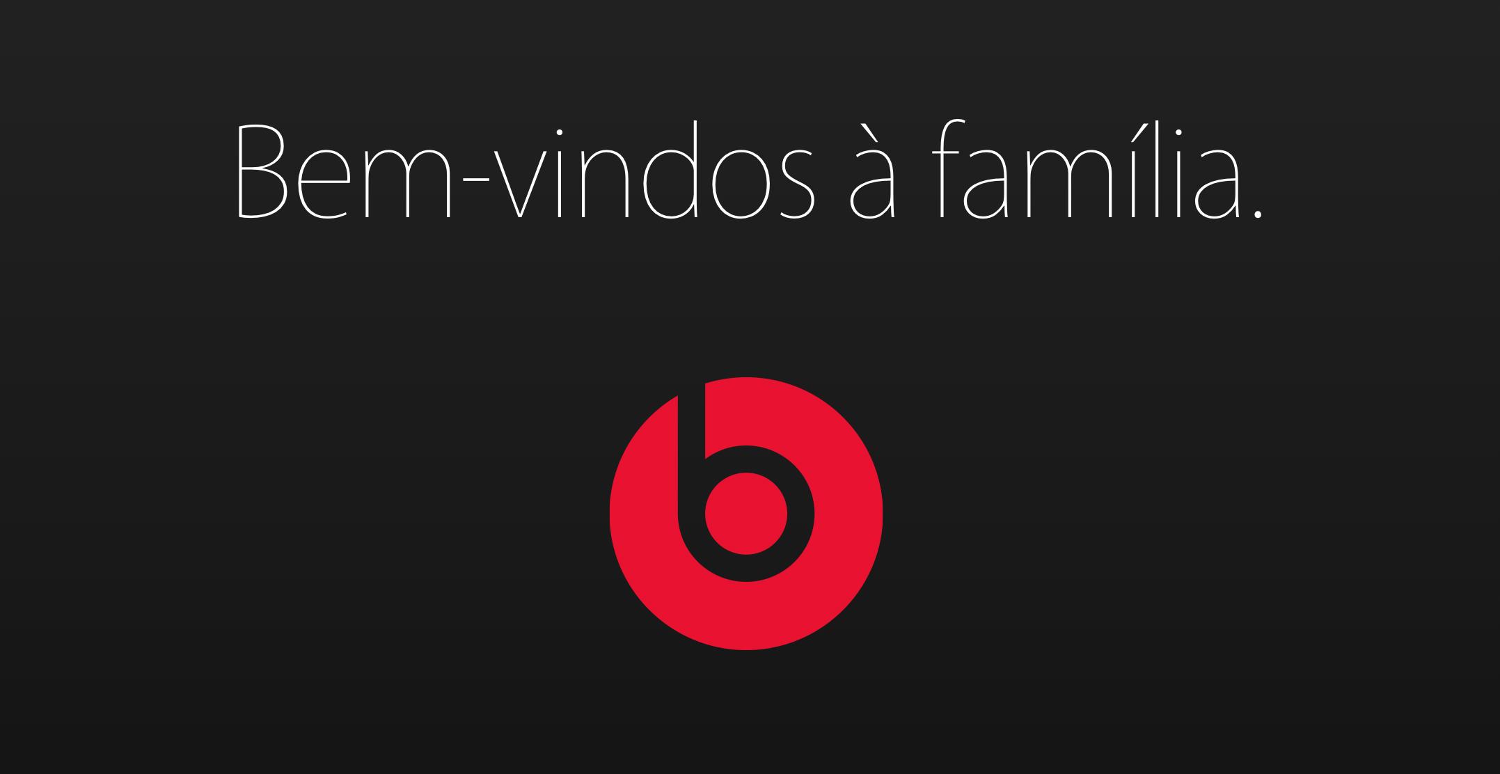 Apple dá boas-vindas à Beats