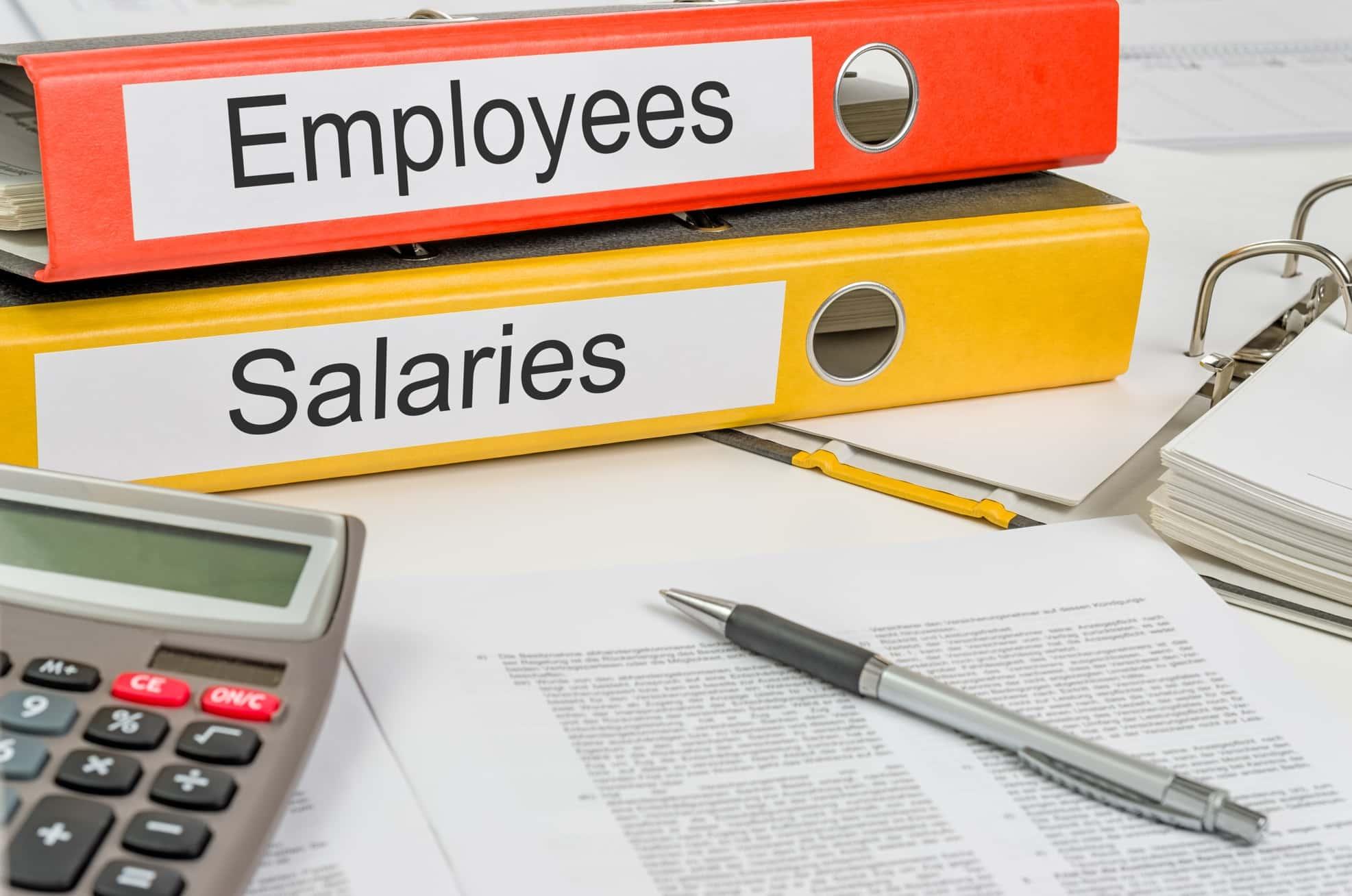 Empregados e salários