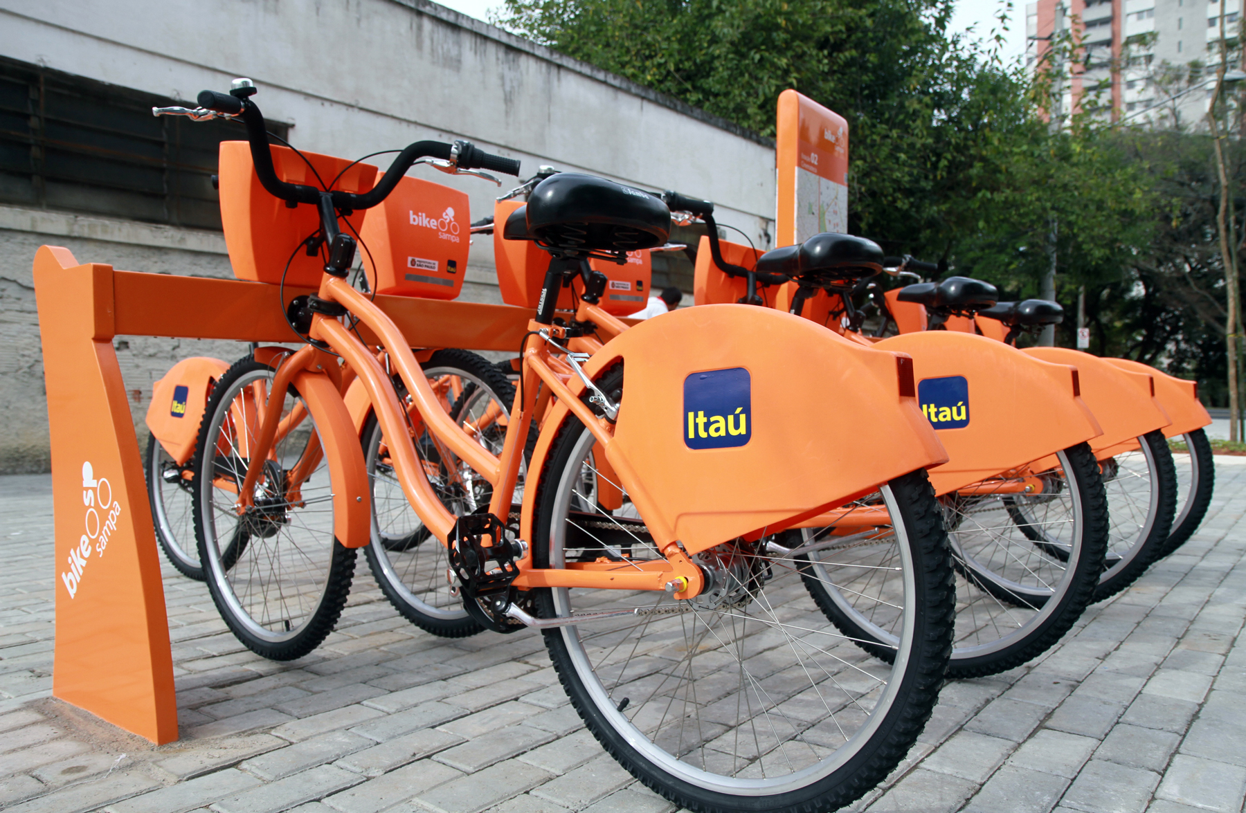 Bicicletas do Itaú