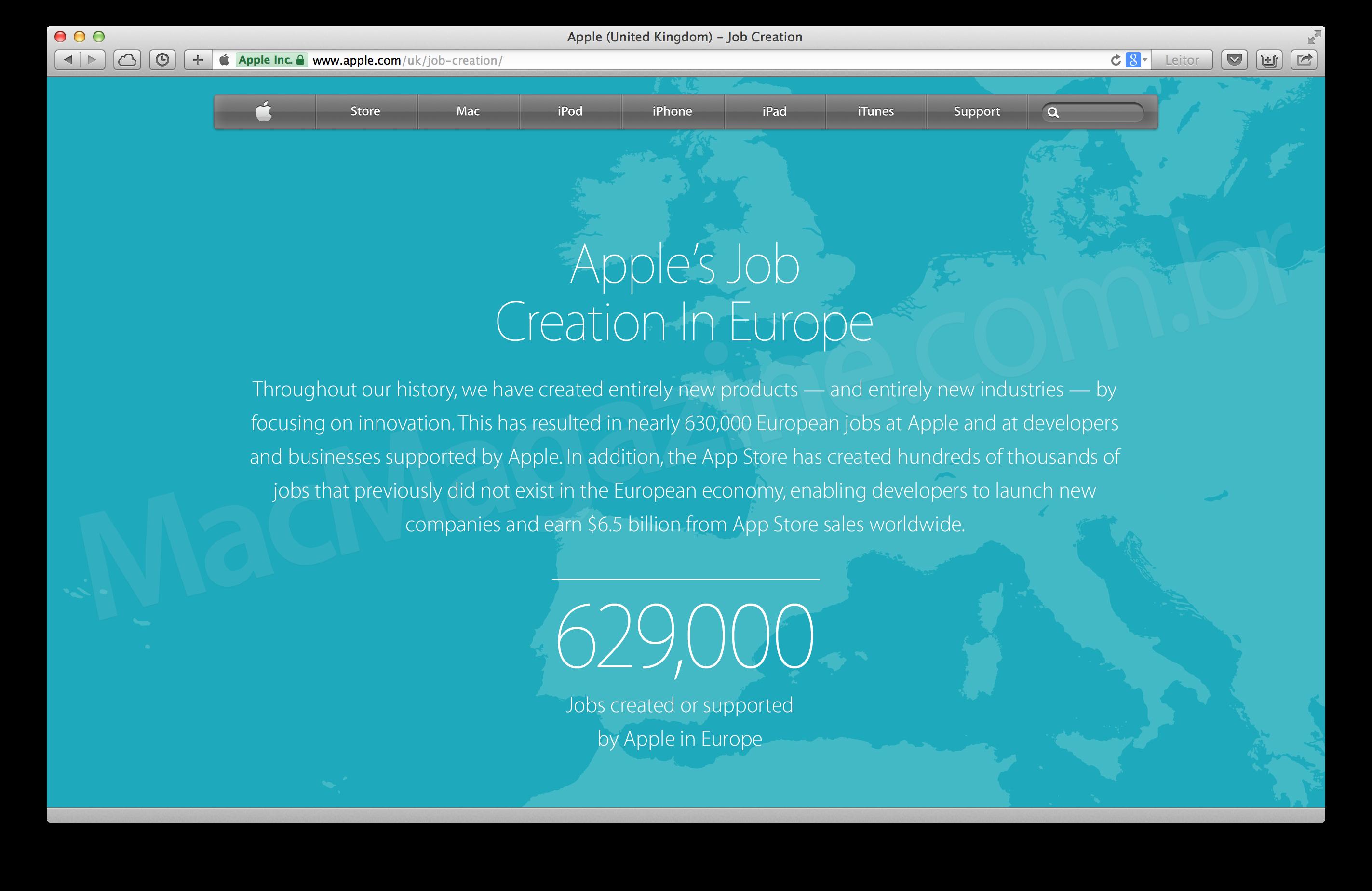 Empregos na Europa
