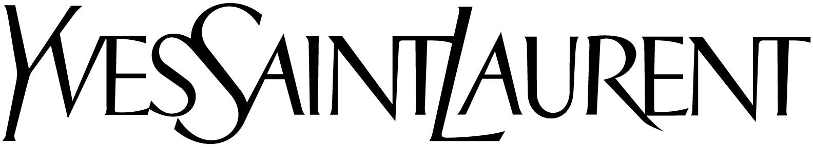 Logo da YSL