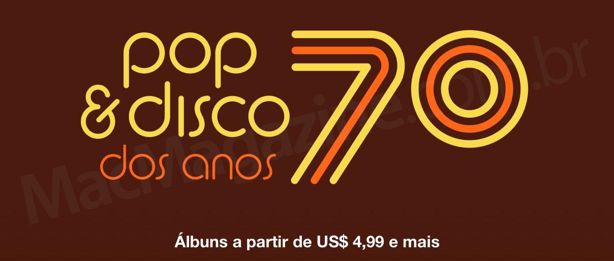 Pop e disco dos anos 70