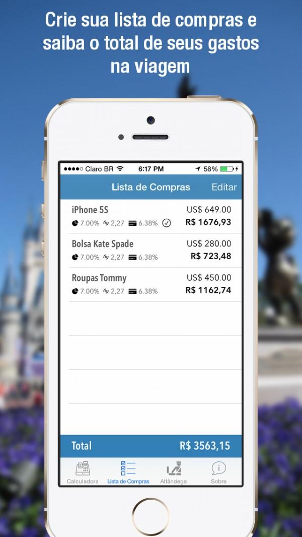 App Compras EUA para iPhones/iPods touch