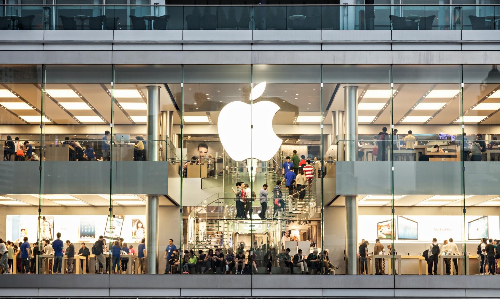 Apple Store em Hong Kong