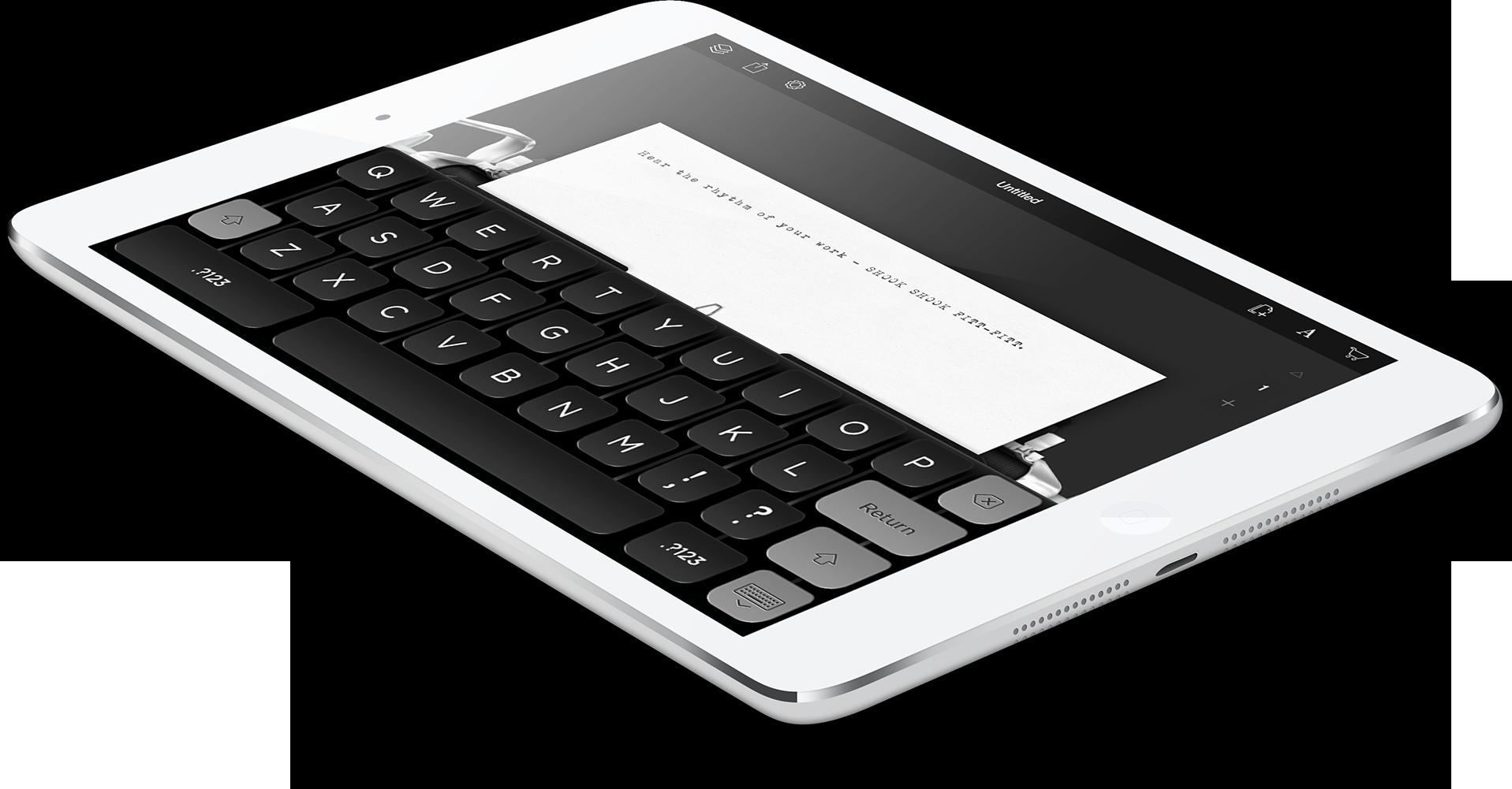 Hanx Writer no iPad
