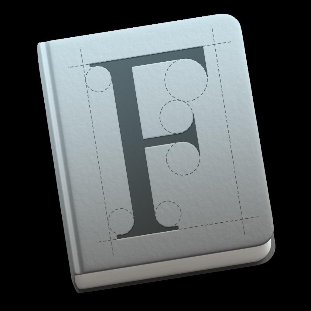Ícone - Catálogo de Fontes