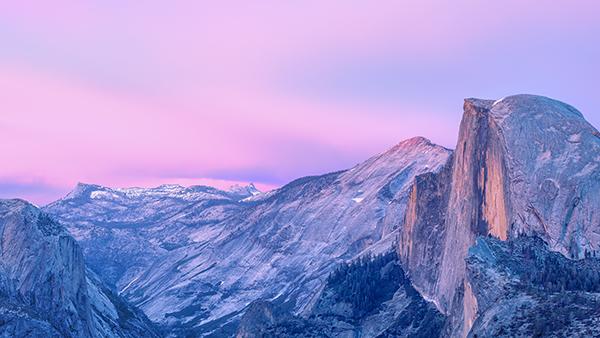 Novo wallpaper do OS X Yosemite