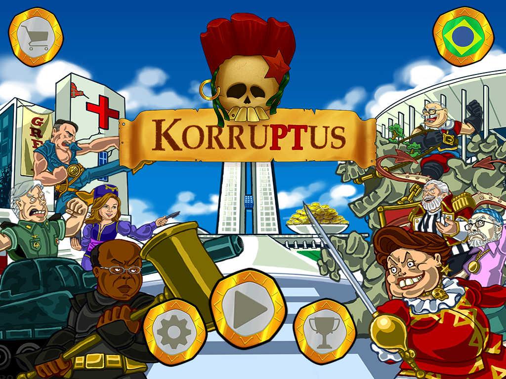 Jogo Korruptus para iOS