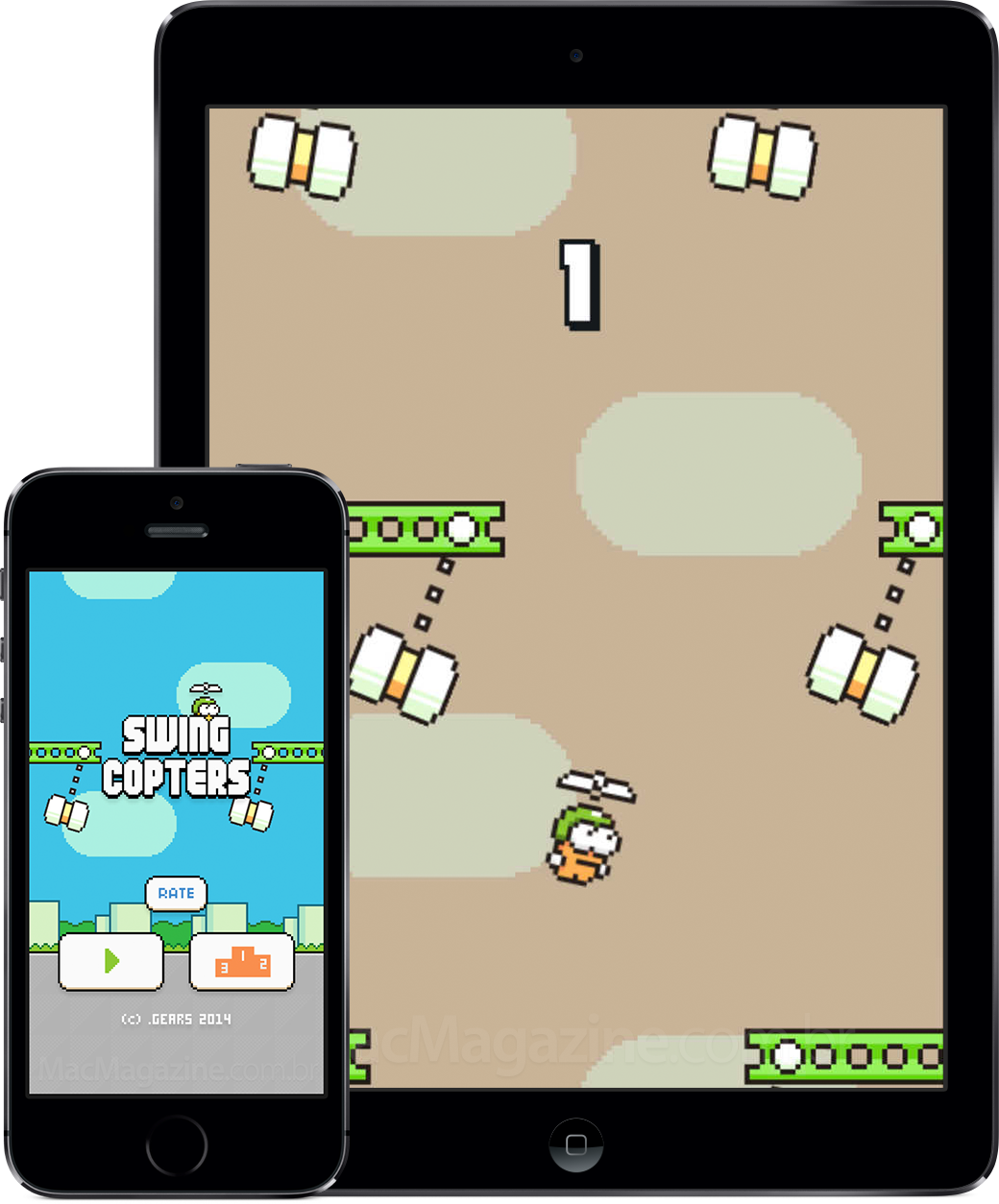 Swing Copters - iGadgets