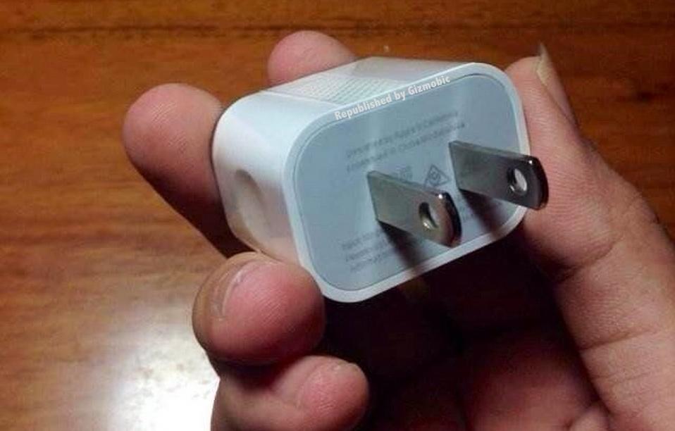 Novo adaptador de força de iPhones