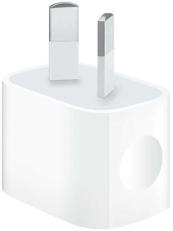 Adaptador de força de iPhones na Austrália