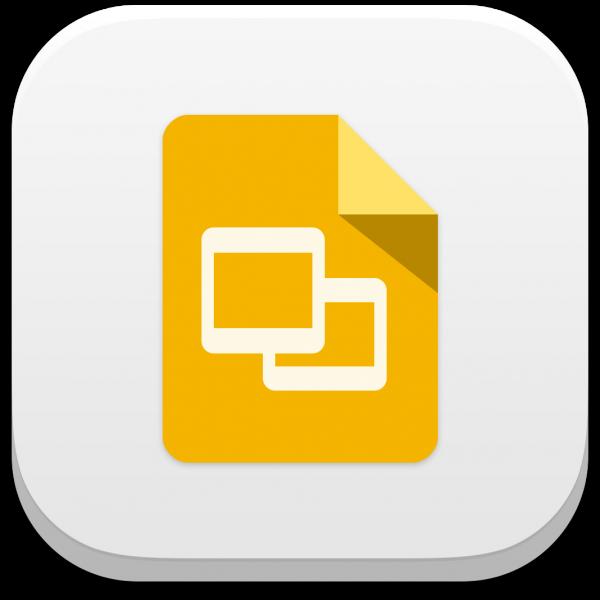 Ícone do app Apresentações Google para iOS