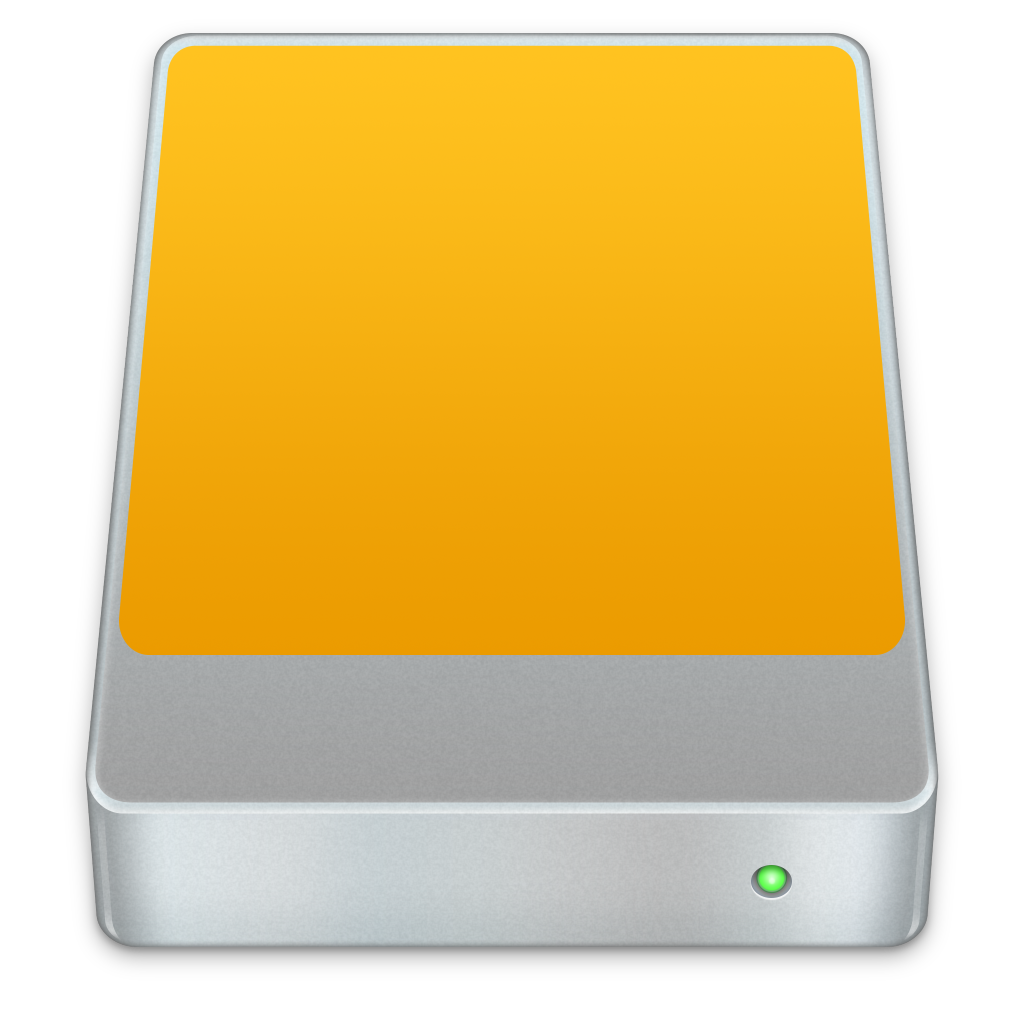 Ícone - HDD externo