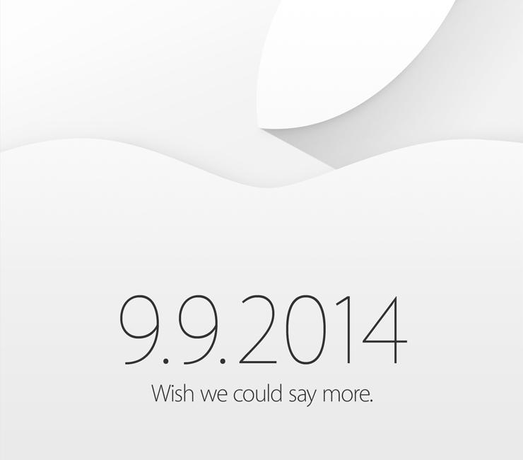 Convite para evento da Apple