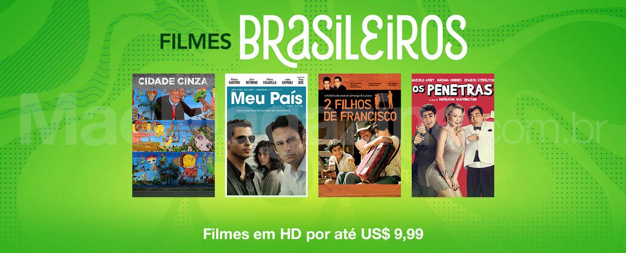 Filmes brasileiros na iTunes