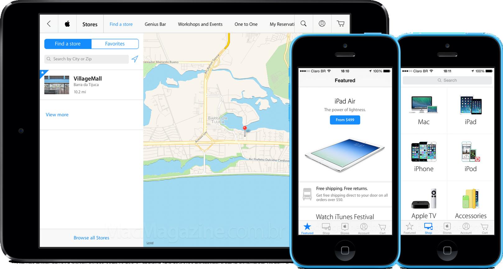 App Apple Store para iOS