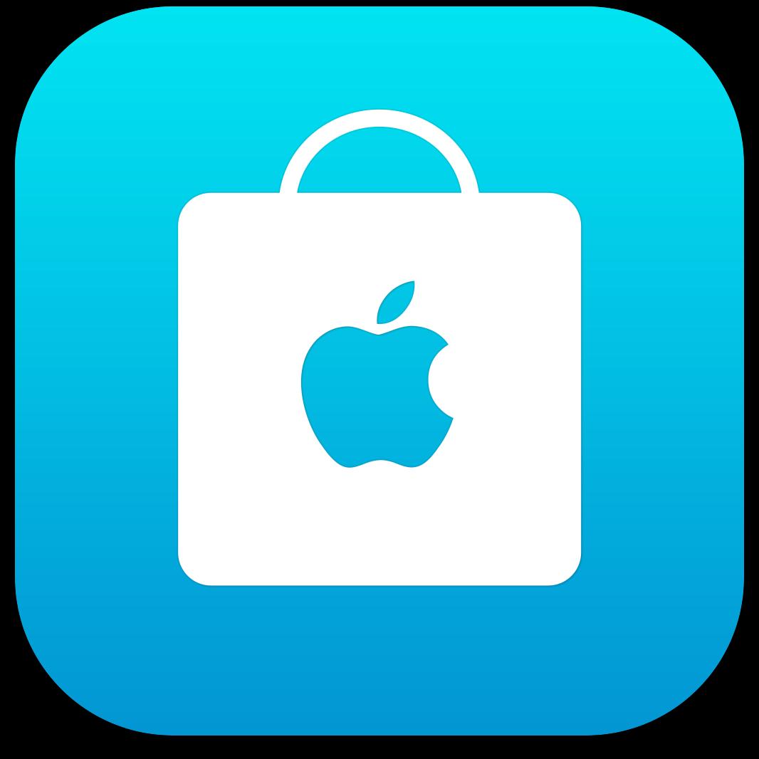 Ícone do app Apple Store para iOS