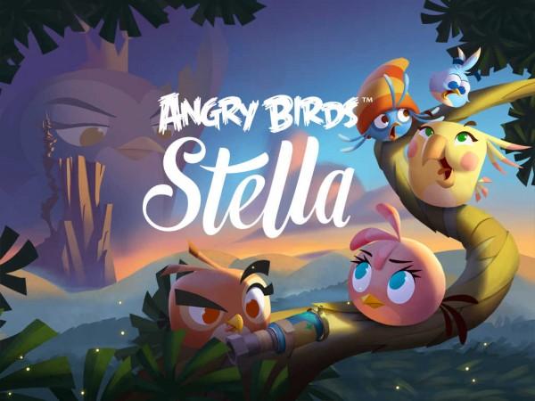 Jogo Angry Birds Stella para iOS