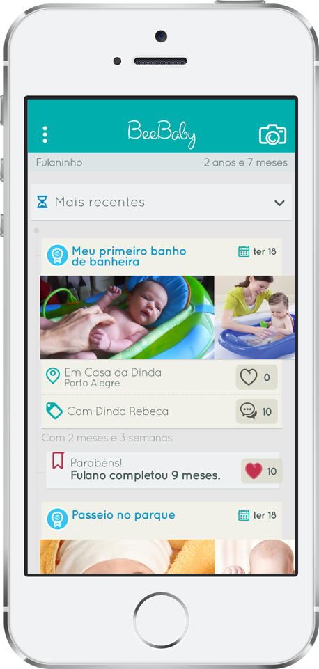 App BeeBaby para iPhones/iPods touch