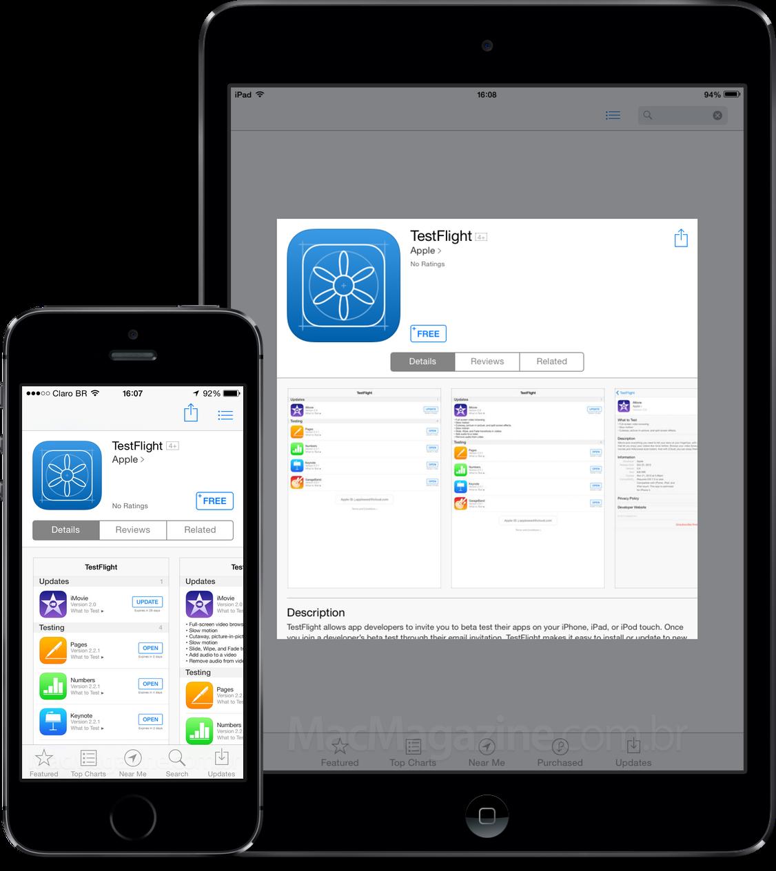 App TestFlight para iOS