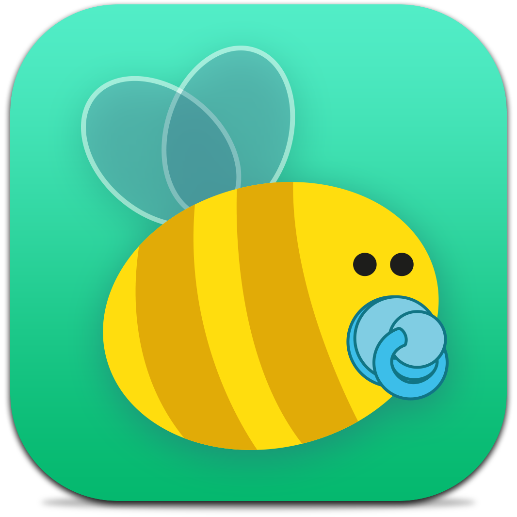 Ícone do app BeeBaby para iPhones/iPods touch