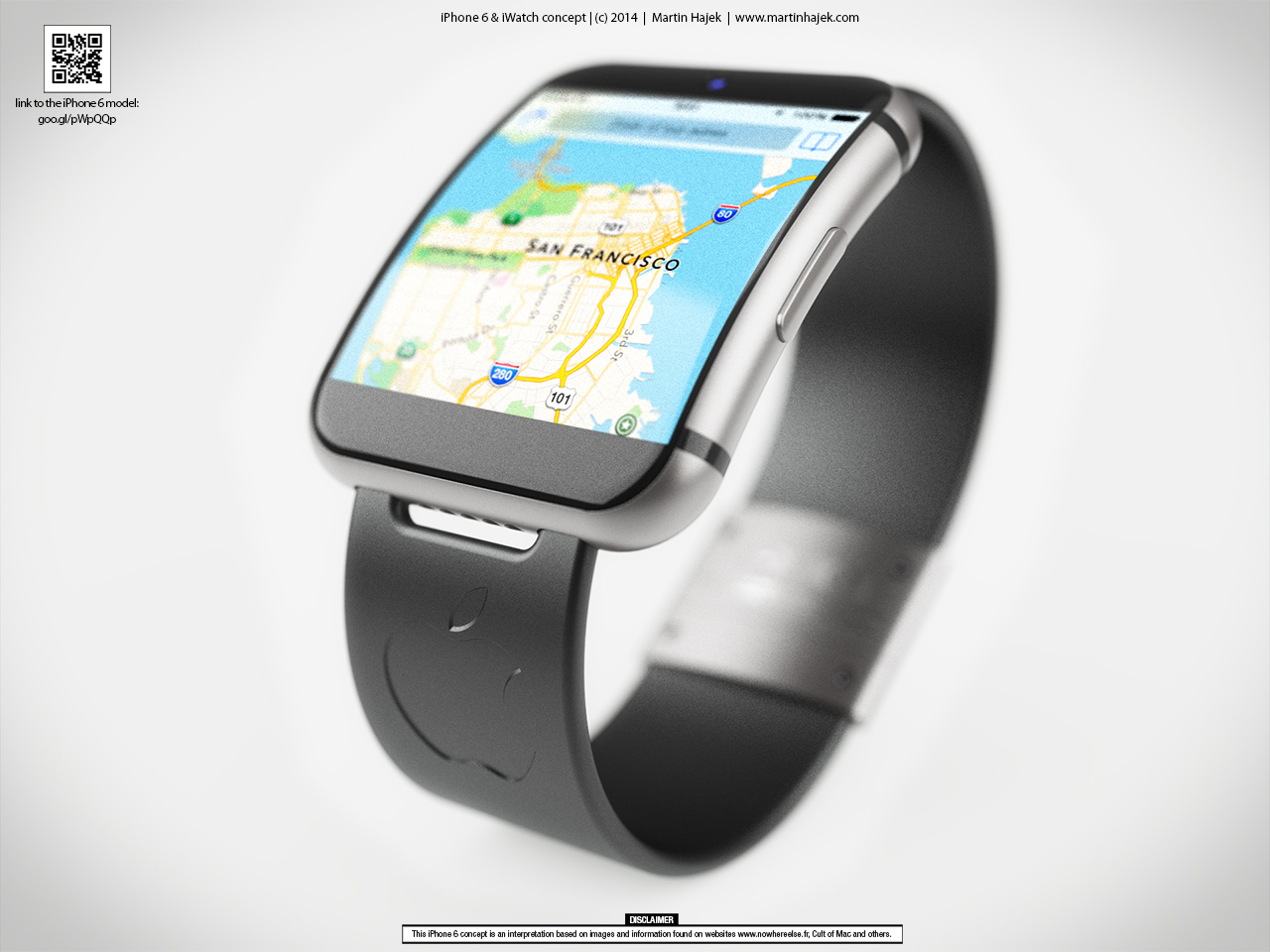 "Conceito - ""iWatch"""