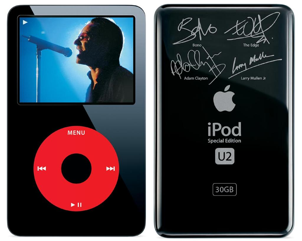 iPod video do U2