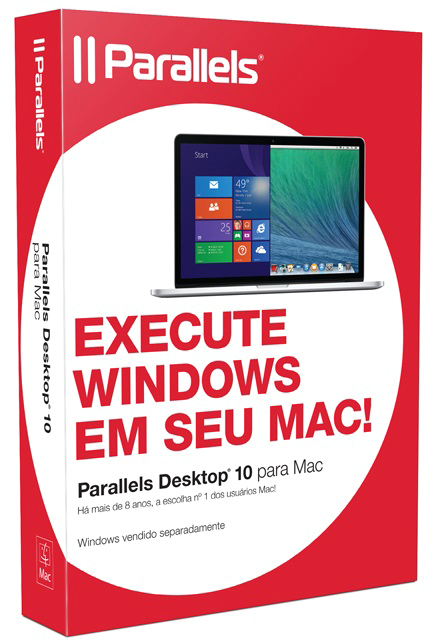 Caixa do Parallels Desktop 10