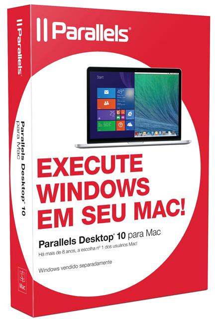 Caixa do Parallels Desktop 10