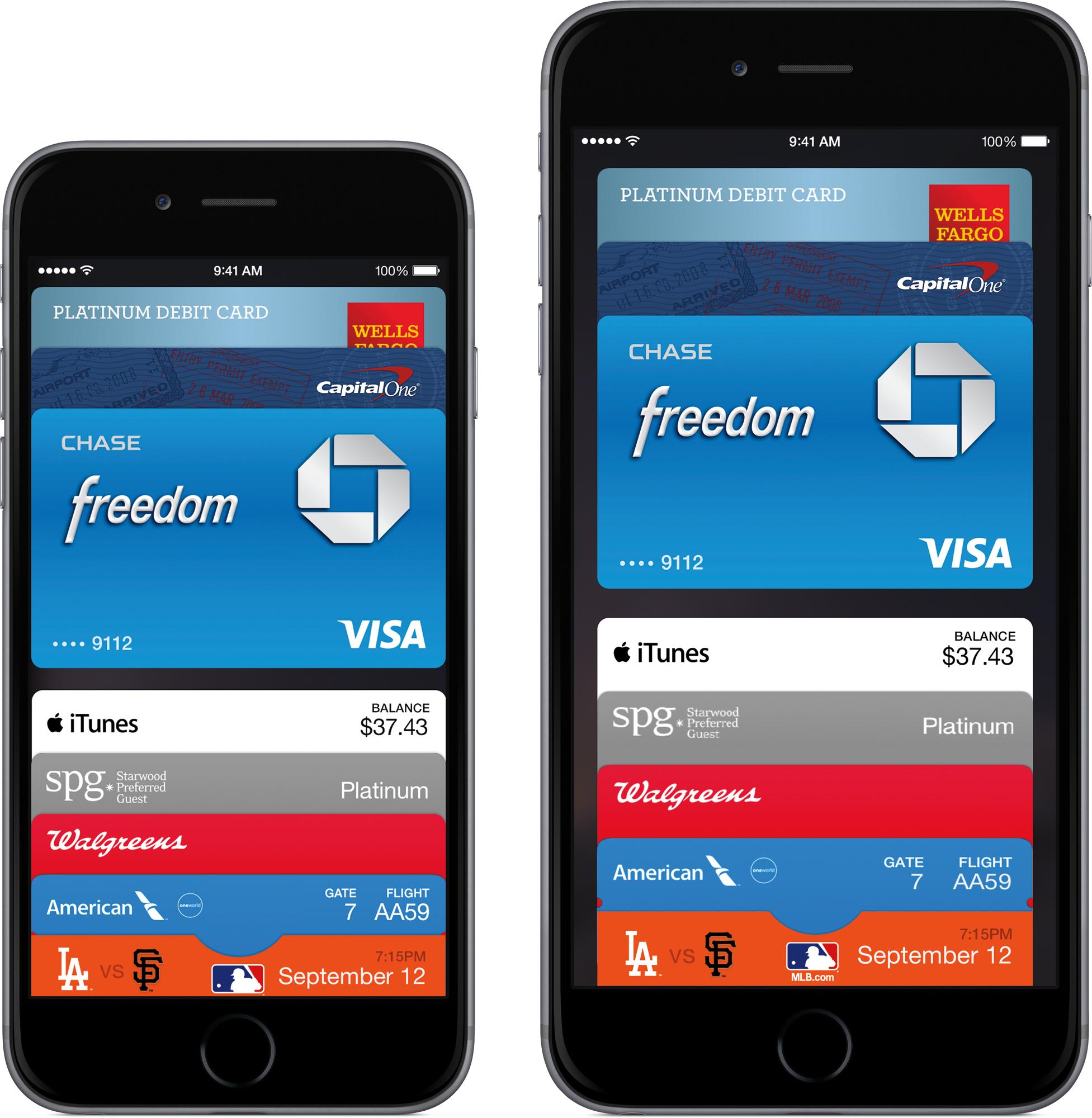 Apple Pay em iPhones 6