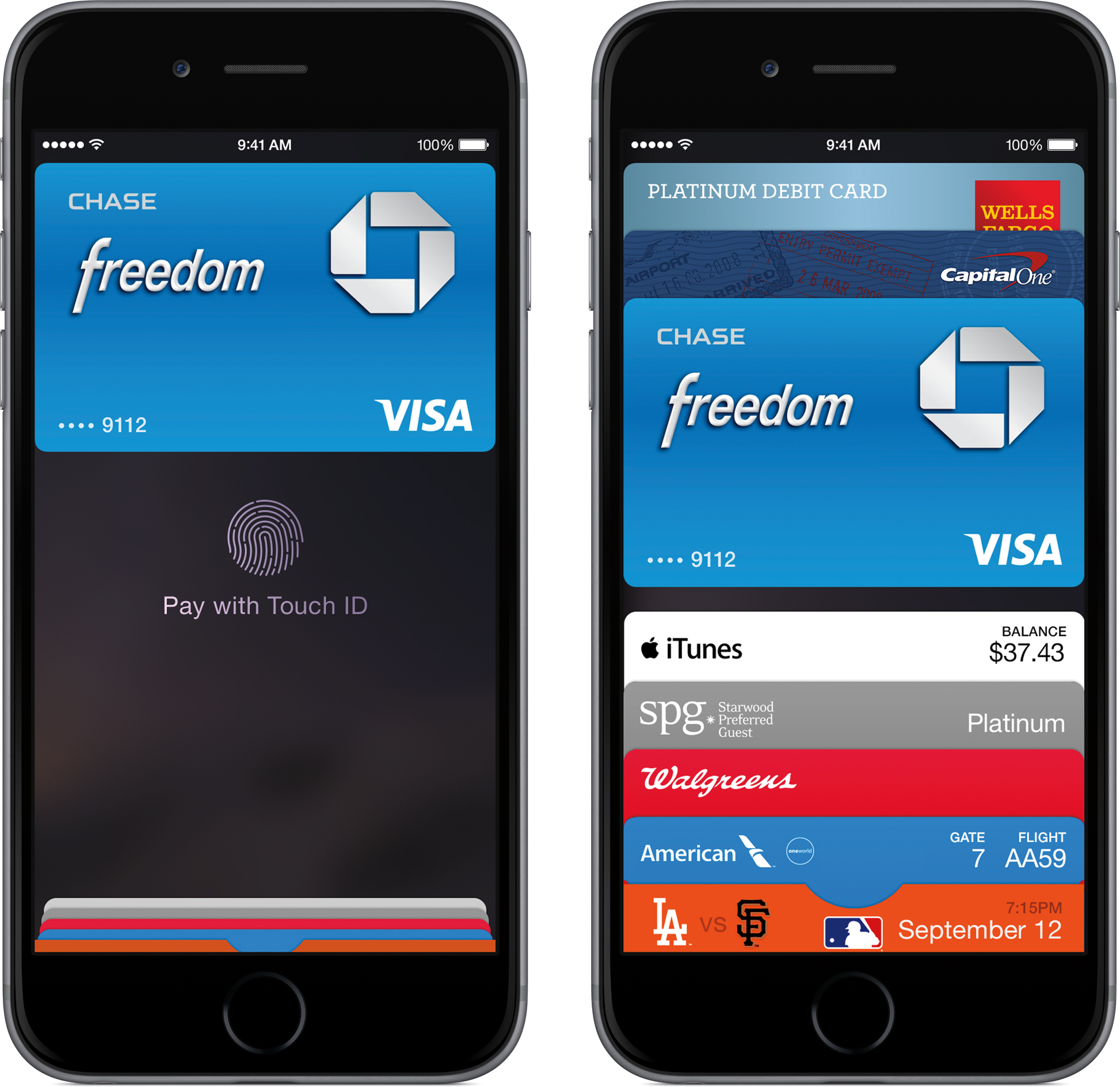 Apple Pay em iPhones 6