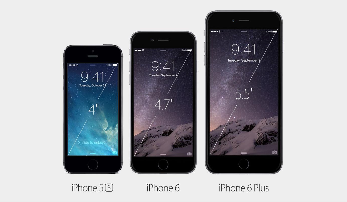Novos iPhones