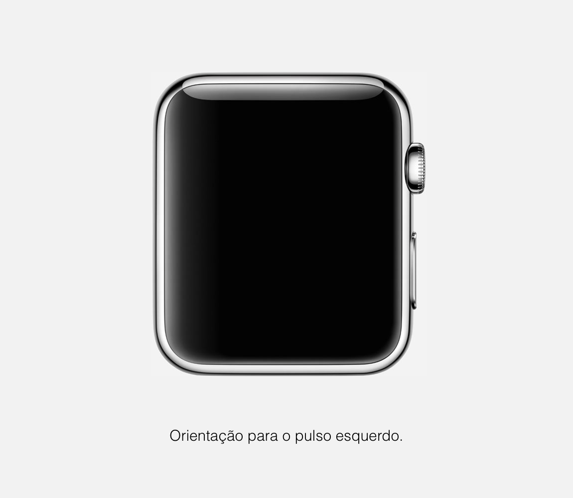 Orientação do Apple Watch