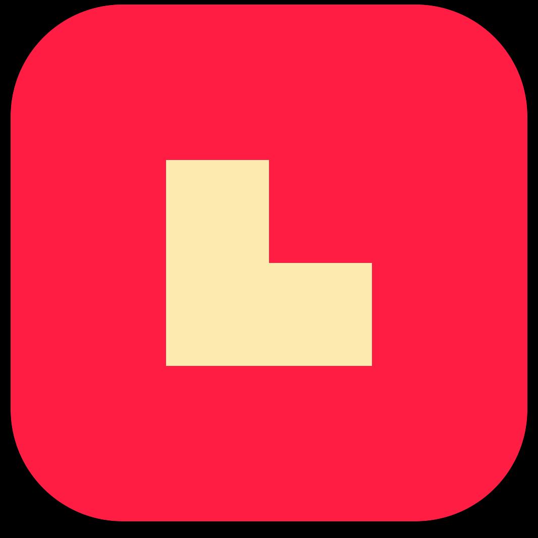 Ícone do jogo Bicolor para iOS