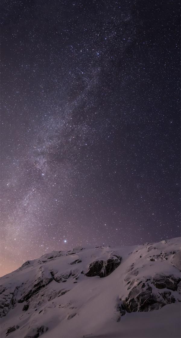 Wallpaper do iOS 8