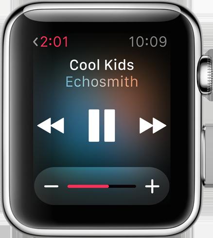 Música no Apple Watch