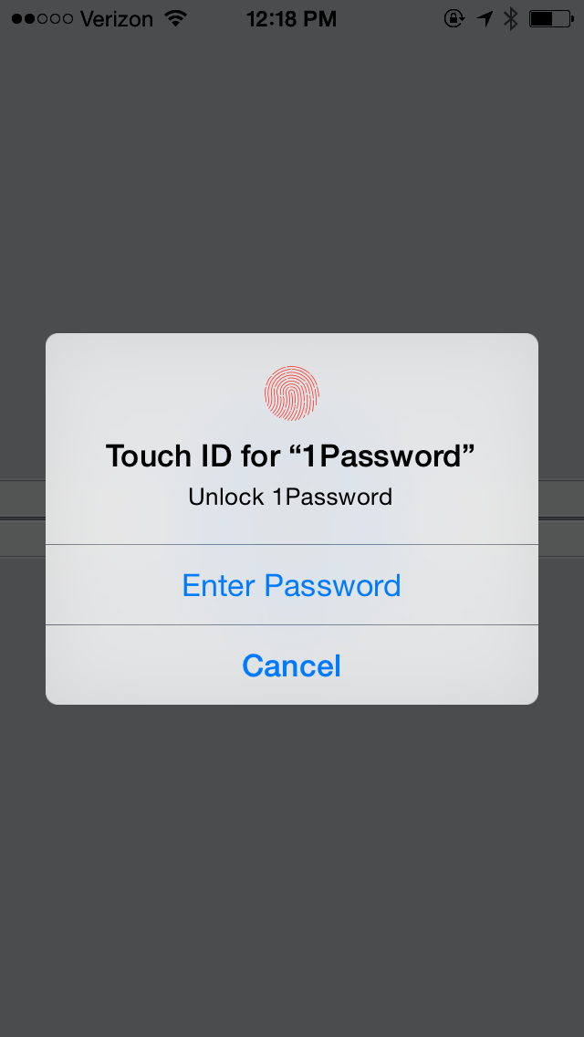 1Password para o iOS 8