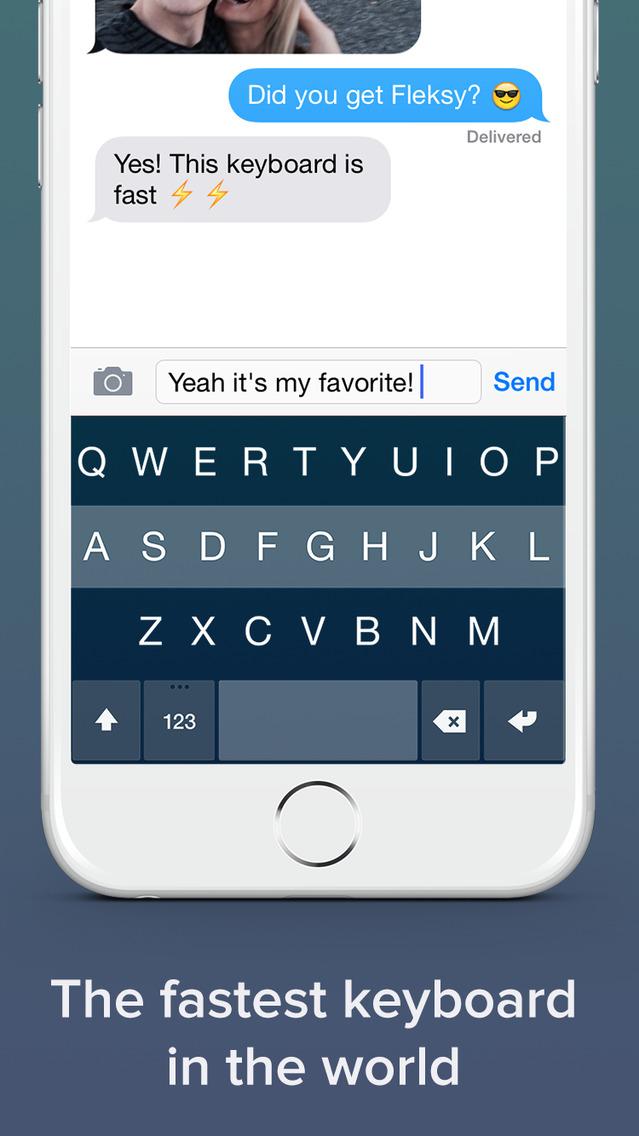 Teclado Flesky para iOS