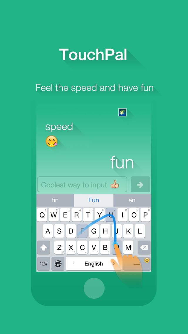 Teclado TouchPal para iOS