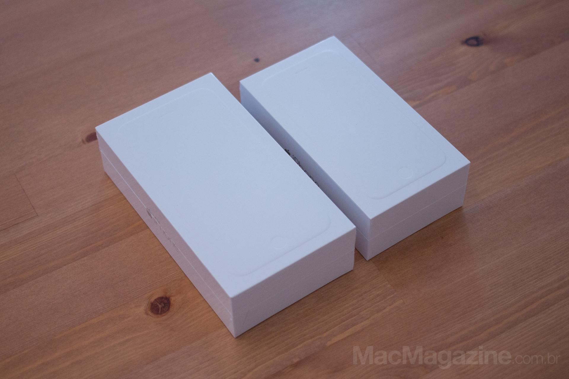 Primeiras impressões dos iPhones 6