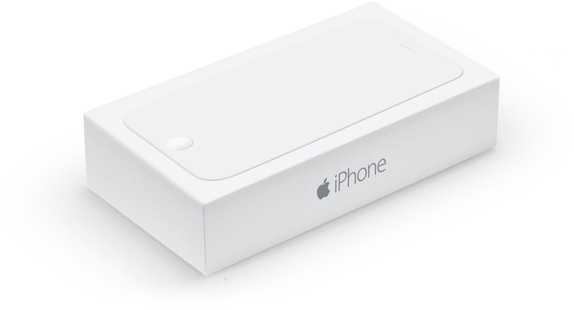 Caixa do iPhone 6