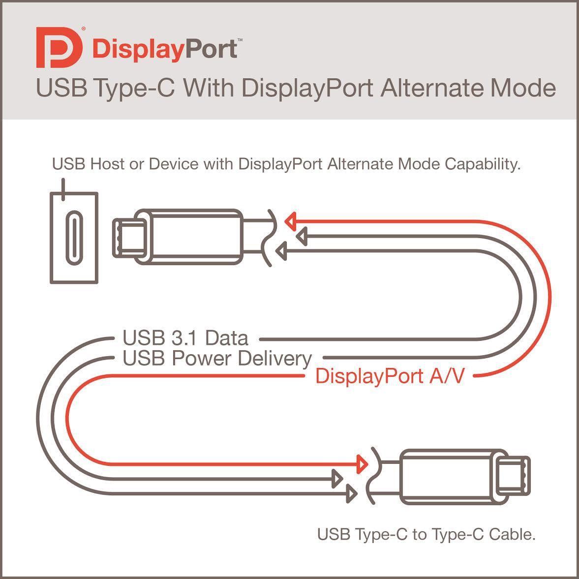DisplayPort Alternate Mode