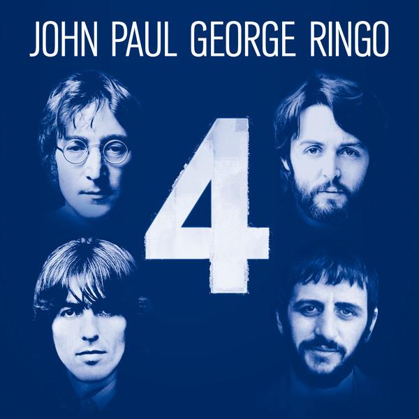 "Capa do álbum ""4: John Paul George Ringo"""