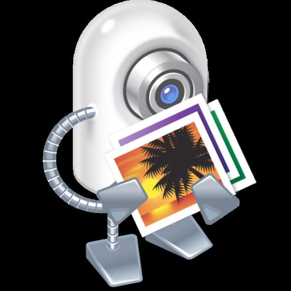 Ícone do app iPhoto Library Manager para OS X