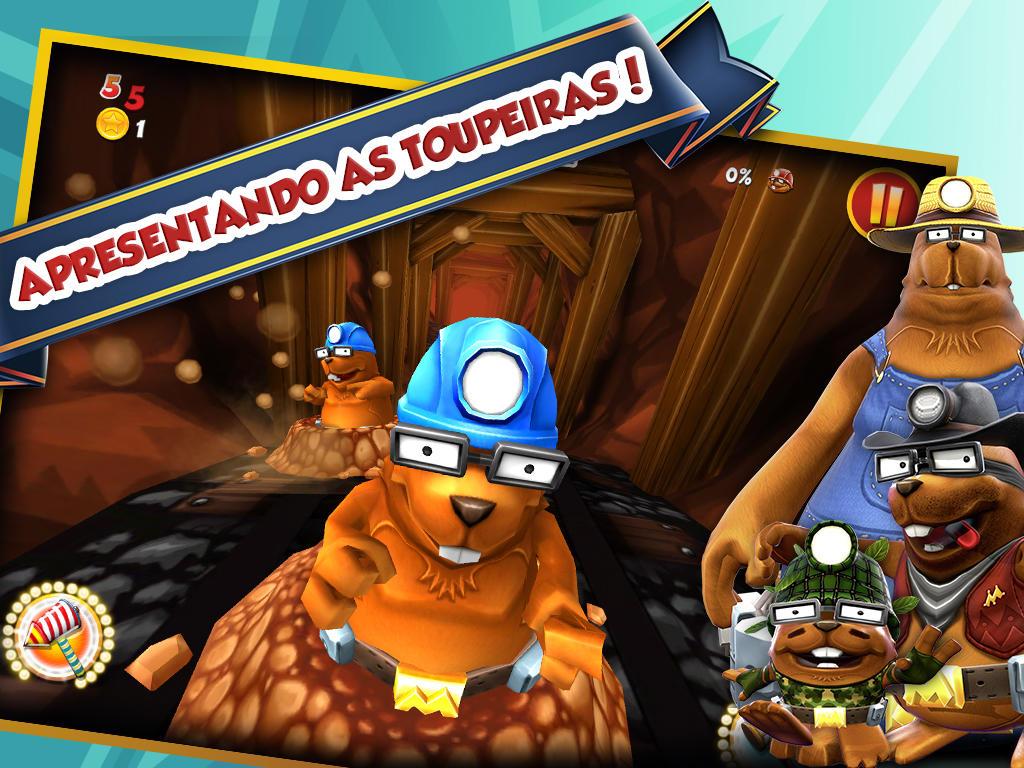 Jogo Whac A Mole para iOS