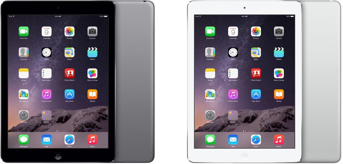 iPads Air lado a lado
