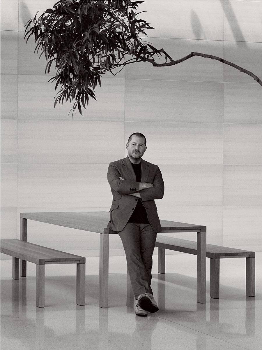 Foto par a entrevista de Jony Ive na Vogue