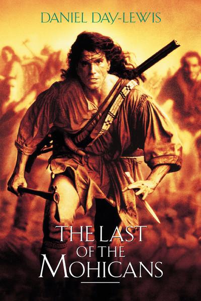 """Cartaz do filme """"O Último dos Moicanos"""""""