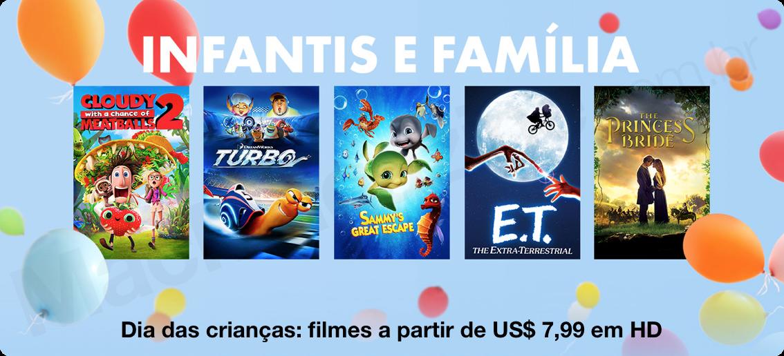 Filmes infantis e para a família