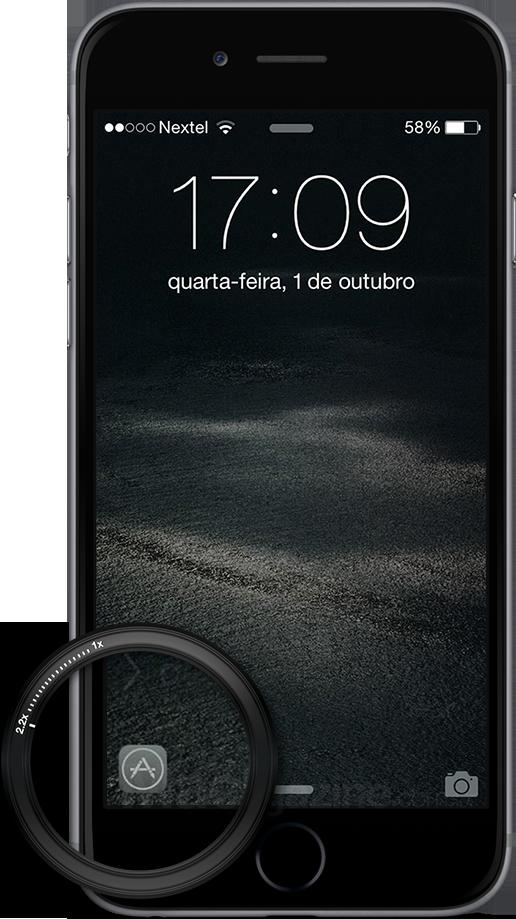 Recurso de sugestão de apps no iOS 8